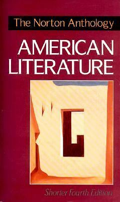 The Norton Anthology of American Literature, Baym, Nina, Good Book