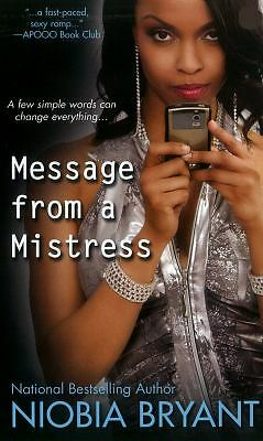 Message From A Mistress, Bryant, Niobia, Good Book