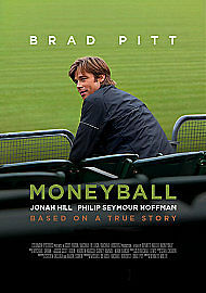 Moneyball by Brad Pitt, Robin Wright, Jonah Hill, Philip Seymour Hoffman, Chris