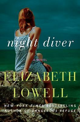 Night Diver: A Novel, Lowell, Elizabeth, Good Condition, Book