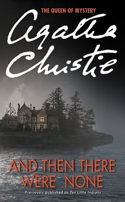 And Then There Were None, Agatha Christie, Good Condition, Book