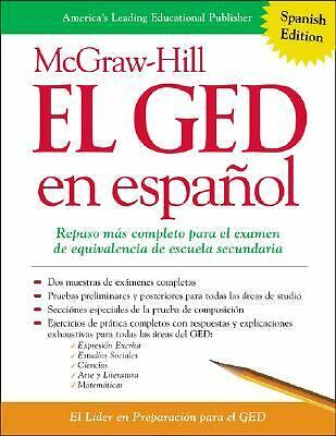 McGraw-Hill El GED en espanol, McGraw-Hill's GED, McGraw-Hill's GED, Good Book