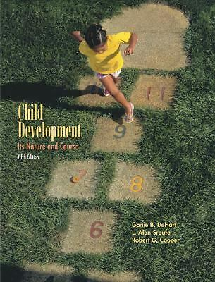 Child Development: Its Nature and Course, Dehart, Ganie, Good Book