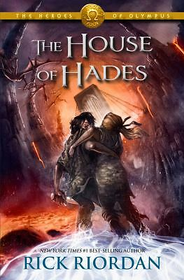 The House of Hades (Heroes of Olympus, Book 4), Riordan, Rick, New Book