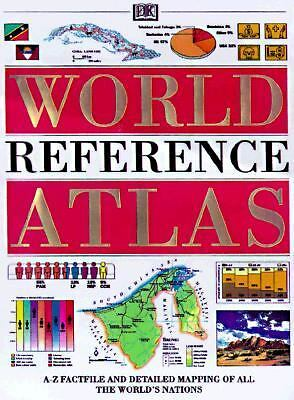 The World Reference Atlas Updated Edition, DK Publishing, Good Book