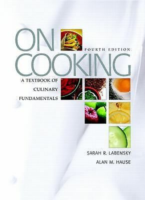 On Cooking: A Textbook of Culinary Fundamentals, 4th Edition (Book only)