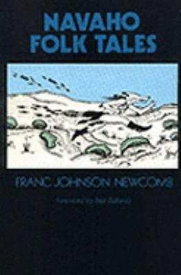 Navaho Folk Tales, Newcomb, Franc Johnson, Good Condition, Book