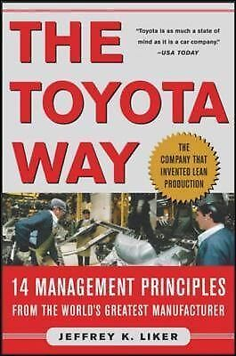 The Toyota Way, Jeffrey Liker, Good Book
