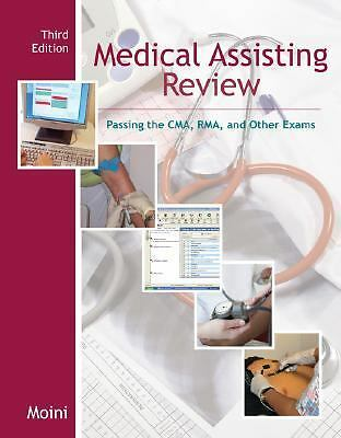 Medical Assisting Review: Passing the CMA, RMA, & Other Exams w/Student CD-ROM,