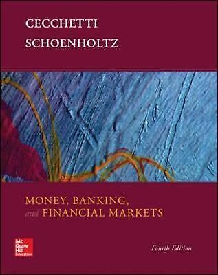 Money, Banking and Financial Markets, Schoenholtz, Kermit, Cecchetti, Stephen, G