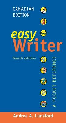 EasyWriter, Canadian Edition: A Pocket Reference, Lunsford, Andrea A., Good Book