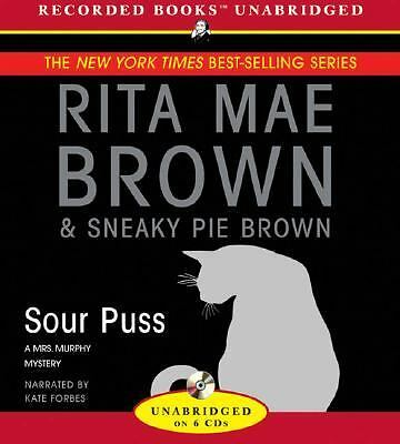 Sour Puss (Mrs. Murphy Mysteries), Sneaky Pie Brown, Brown, Rita Mae, Good Book