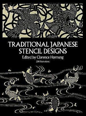 Traditional Japanese Stencil Designs by