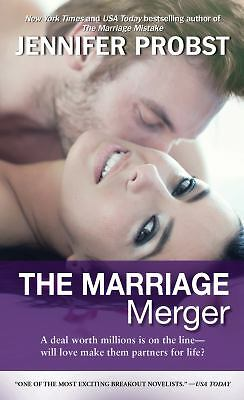 The Marriage Merger, Probst, Jennifer, Good Condition, Book