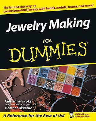 Jewelry Making & Beading For Dummies, Heather Dismore, Tammy Powley, Acceptable