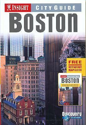 Insight City Guide Boston, , Good Book