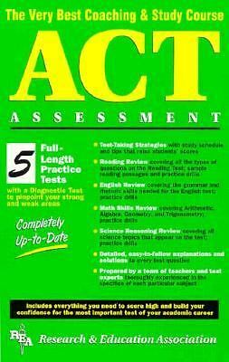 ACT Assessment (REA) - The Very Best Coaching & Study Course (SAT PSAT ACT (Coll