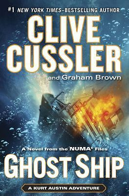 Ghost Ship (The Numa Files), Brown, Graham, Cussler, Clive, Good Condition, Book