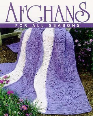 Afghans for All Seasons, Leisure Arts, Acceptable Book