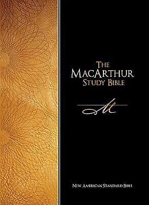 NASB MacArthur Study Bible, , Good Book