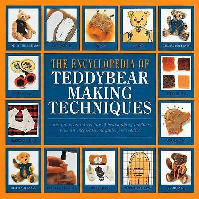 The Complete Book of Teddy-Bear Making Techniques, Stephens, Ann, Merrett, Alici