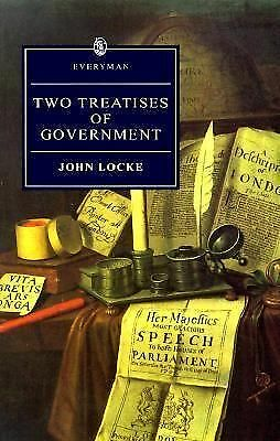 Two Treatises of Government (Everyman) by Locke, John