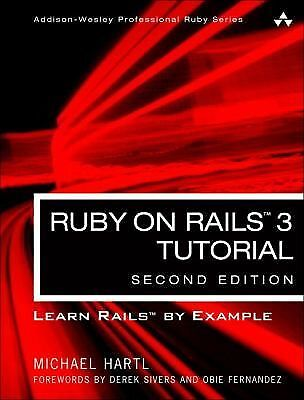 Ruby on Rails Tutorial: Learn Web Development with Rails (2nd Edition) (Addison-