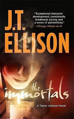 The Immortals (Taylor Jackson), J.T. Ellison, Good Condition, Book