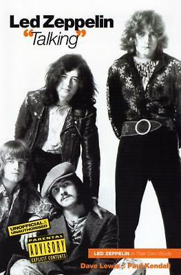 "Led Zeppelin ""Talking"", Dave Lewis, Paul Kendall, Good Book"