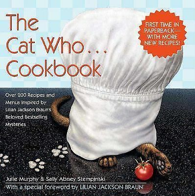 The Cat Who...Cookbook (Updated), Stempinski, Sally Abney, Murphy, Julie, Accept