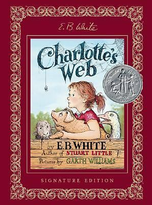 Charlotte's Web Signature Edition White, E. B.