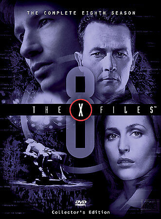 The X-Files - The Complete Eighth Season, Good DVD, David Duchovny, Gillian Ande