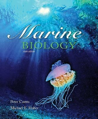 Marine Biology, 6th Edition, Peter Castro, Michael E. Huber, Good Book