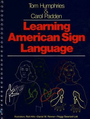 Learning American Sign Language, Tom Humphries, Carol Padden, Acceptable Book