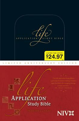 Life Application Study Bible NIV, Personal Size Limited Anniversary Edition, , A