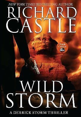 Wild Storm: A Derrick Storm Thriller, Castle, Richard, Good Condition, Book
