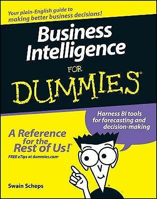 Business Intelligence For Dummies by Scheps, Swain