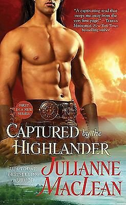 Captured by the Highlander, Julianne MacLean, Good Condition, Book