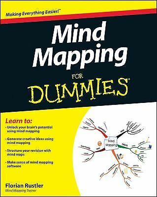 Mind Mapping For Dummies by Rustler, Florian