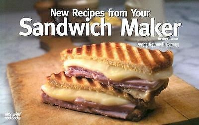 New Recipes From Your Sandwich Maker, German, Donna Rathmell, Good Condition, Bo