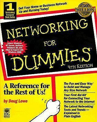 Networking For Dummies, Lowe, Doug, Good Book