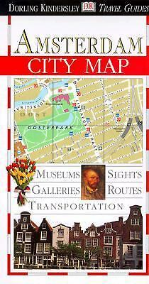 Dorling Kindersley  Amsterdam City Map, DK Publishing, Good Book