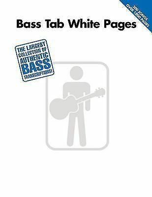 Bass Tab White Pages Hal Leonard Corp.
