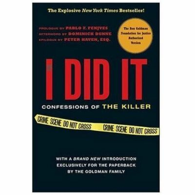 If I Did It: Confessions of the Killer, O. J. Simpson, Good Book
