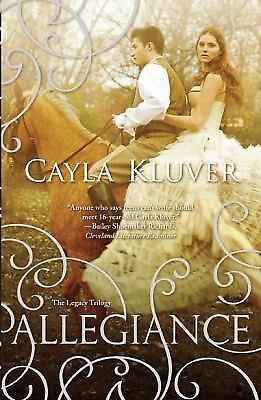 Allegiance (The Legacy Trilogy), Kluver, Cayla, Good Condition, Book