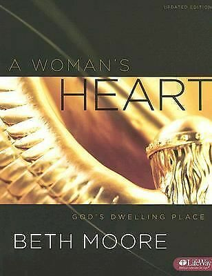 A Woman's Heart: God's Dwelling Place, Member Book UPDATED, Beth Moore, Good Boo