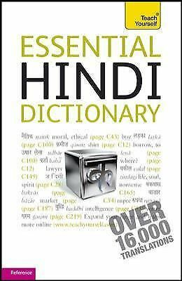 Essential Hindi Dictionary: A Teach Yourself Guide (TY: Language Guides), Snell,