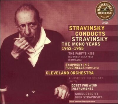Stravinsky Conducts Stravinsky: The Mono Years
