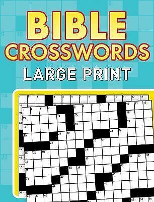 Bible Crosswords--Large Print, Compiled by Barbour Staff, Excellent Book