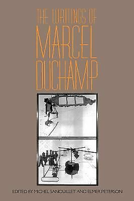 The Writings Of Marcel Duchamp (Da Capo Paperback), Peterson, Elmer, Sanouillet,